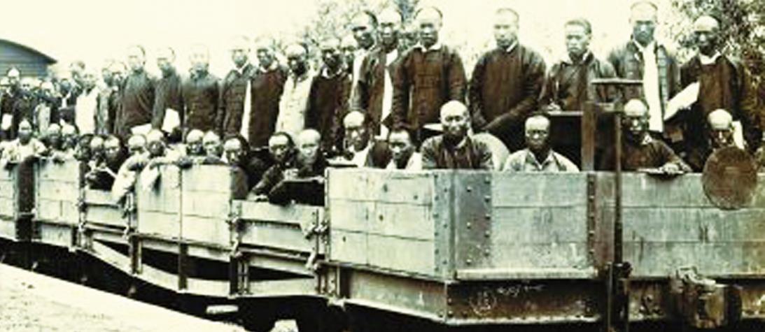 100多年前中国第一代产业工人风采