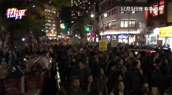 纽约地铁示威打了谁的脸?
