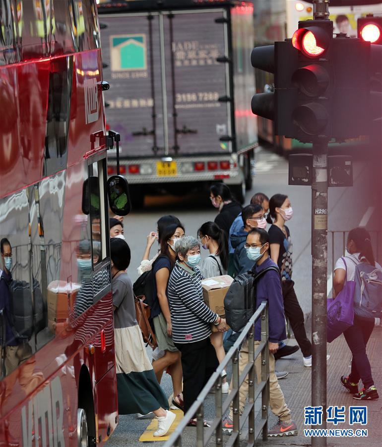 (港澳台·图文互动)(4)香港新增43例新冠肺炎确诊病例 创3个多月以来单日最高